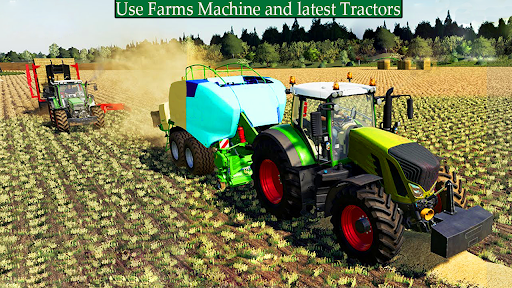 New Thresher Tractor Farming 2021-New Tractor Game screenshot 2