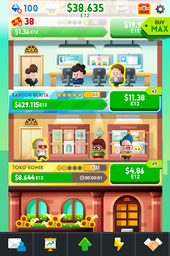 Cash, Inc. Money Clicker Game & Business Adventure screenshot 2