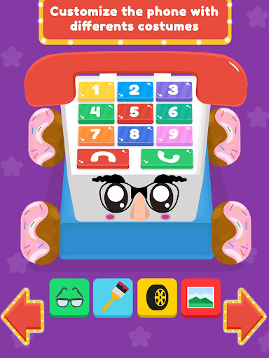Baby Carphone Toy. Kids game screenshot 13