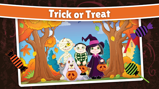 Halloween Puzzle for kids & toddlers 🎃 屏幕截图 3