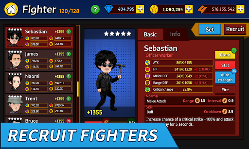 Idle Fighters screenshot 15