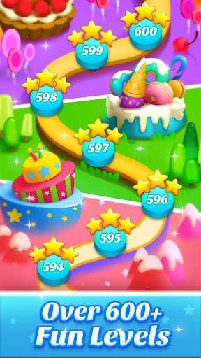 Cookie World -- Clash of Cookie & Colorful Puzzle screenshot 4