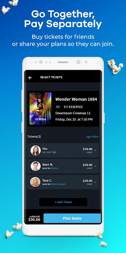 Atom Tickets screenshot 4