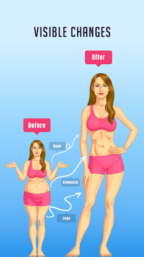 Daily Fitness-Weight loss fitness exercise captura de pantalla 1