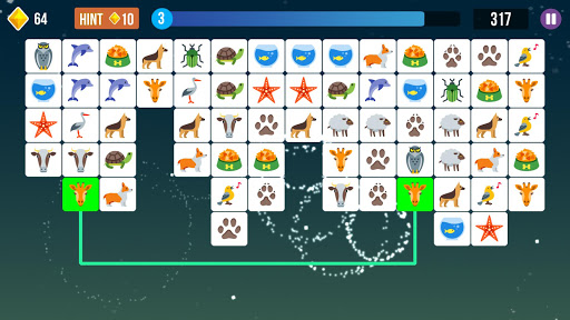 Pet Connect, Tile Connect Game, Tile Matching Game screenshot 1