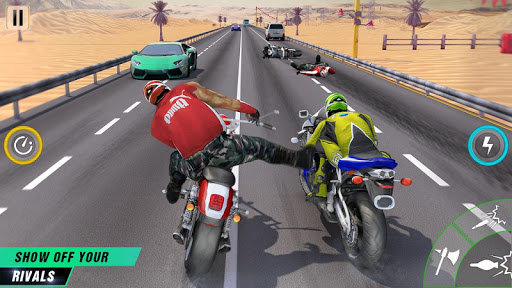 Bike Attack New Games screenshot 6