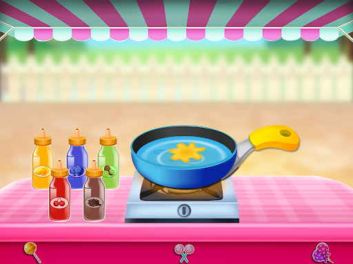 Candy Girl Salon Makeover - Candy Cooking Game screenshot 4