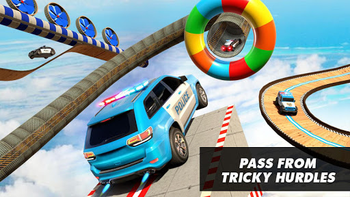 Police Prado Car Stunt Games screenshot 1