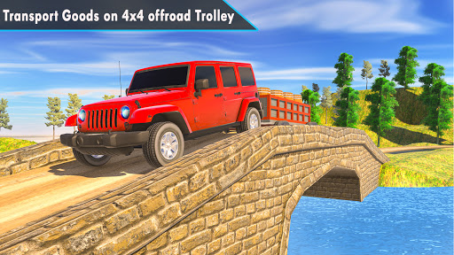 4x4 Mountain Car Driving Games screenshot 2