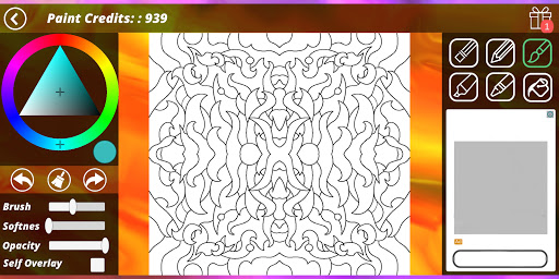 Coloring Pages [Adults] screenshot 6