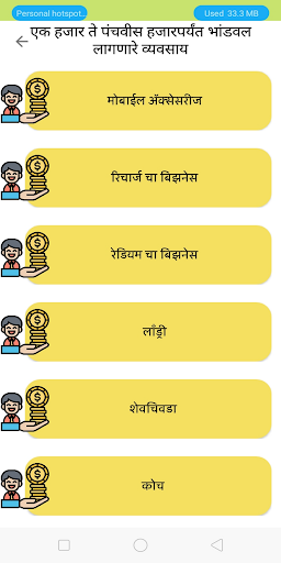 Marathi Business Idea(मराठी) screenshot 2