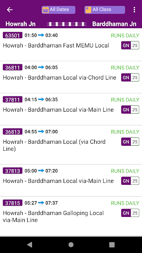 Kolkata Suburban Trains screenshot 3