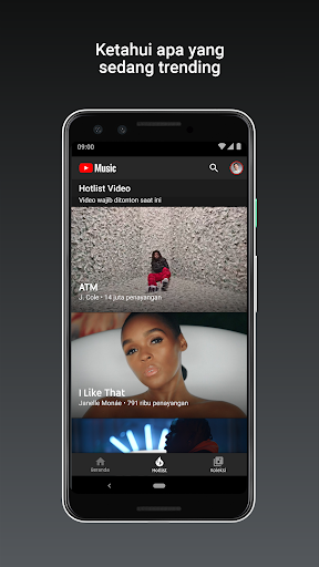 YouTube Music - Streaming Lagu & Video Musik tangkapan layar 4