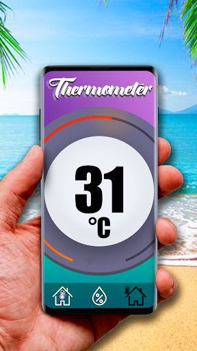 Free thermometer for Android screenshot 2