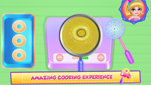 Ice Cream Donuts Cooking screenshot 1