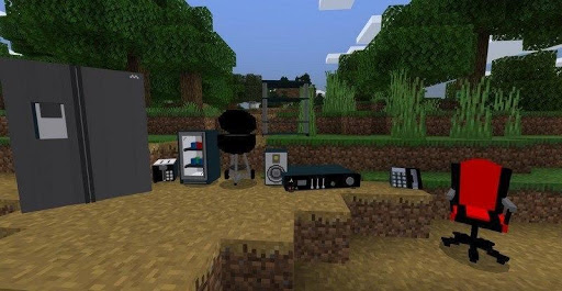 Furniture and Decorations mod for Minecraft PE screenshot 2