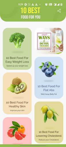 10 Best Foods for You screenshot 1