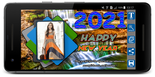 2021 Newyear Photo Frames screenshot 8