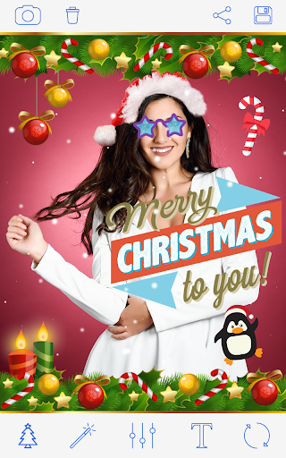 क्रिसमस वेशभूषा Photo Christmas Costumes screenshot 5