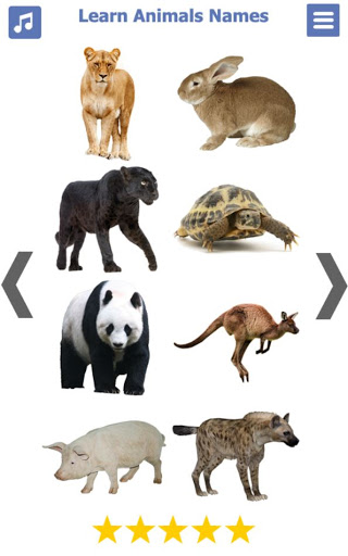 Learn Animals Name Animal Sounds Animals Pictures tangkapan layar 6
