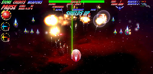 Space D-Fense screenshot 2