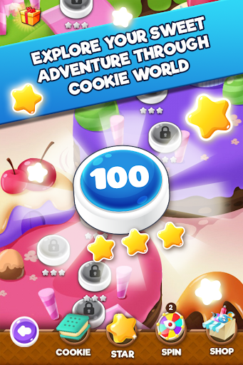 Cookie Blast 2 screenshot 1