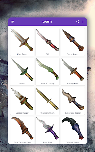 How to draw weapons. Daggers. Step by step lessons screenshot 15