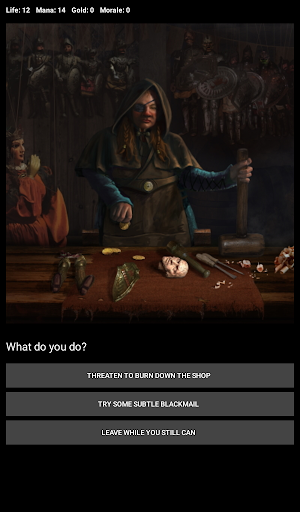 D&D Style Medieval Fantasy RPG (Choices Game) screenshot 21