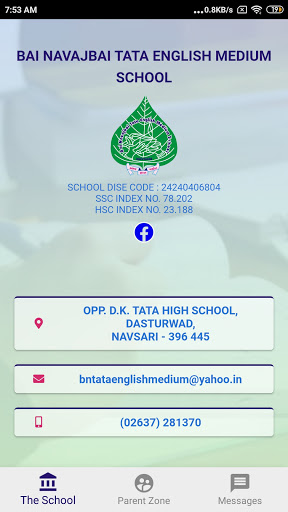 Tata Girls English Medium School screenshot 1