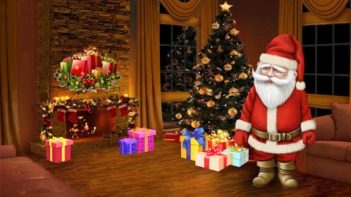 Santa Claus Car Driving 3d - New Christmas Games screenshot 10