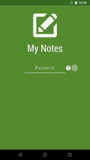 My Notes - Notepad screenshot 1