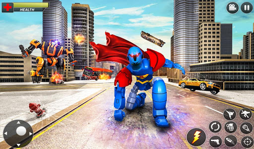 Flying Hero Robot Transform Car screenshot 15