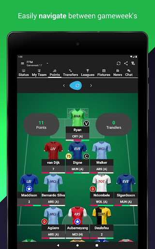 (FPL) Fantasy Football Manager for Premier League screenshot 2