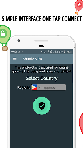 VPN : Shuttle VPN, Free VPN, Unlimited, Secure VPN screenshot 5
