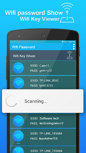 Wifi Password key Show screenshot 2