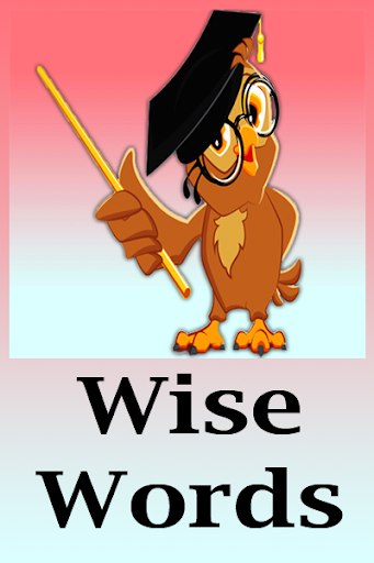 Wise Words captura de pantalla 4