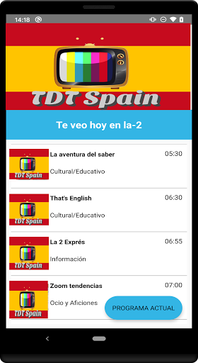 Espana TDT screenshot 2