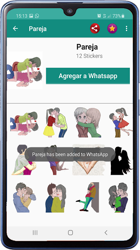 Memes with phrases Spanish Stickers WAStickerApps screenshot 8
