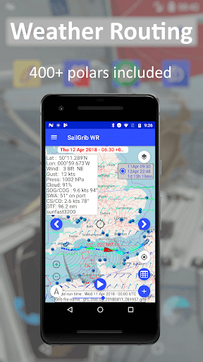 SailGrib Weather Routing Free screenshot 2