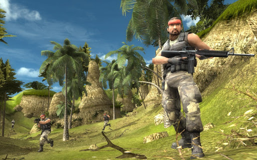 Pacific Jungle Assault Arena screenshot 4
