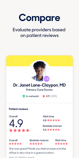 Zocdoc Find A Doctor & Book On Demand Appointments screenshot 4