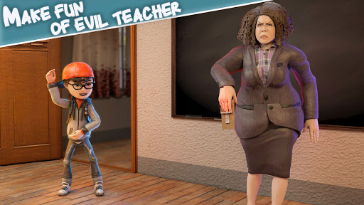 Scare Scary Bad Teacher 3D screenshot 12