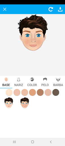 Avatarly: crear avatar emoji para Wastickerapps screenshot 6