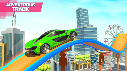 Mega Ramp Car Stunts screenshot 2