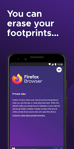 Firefox for Android Beta screenshot 3