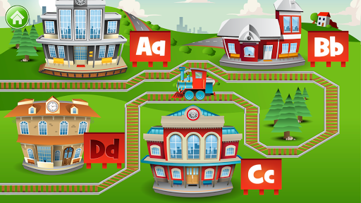 Learn Letter Names and Sounds with ABC Trains screenshot 3