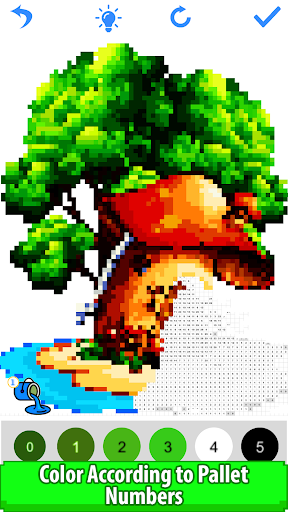 Pixly - Paint by Number,Pixel Art,Sandbox Coloring screenshot 7