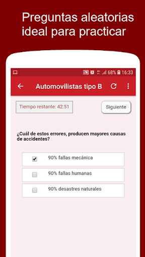 Prepara tu examen de conducir Chile screenshot 2