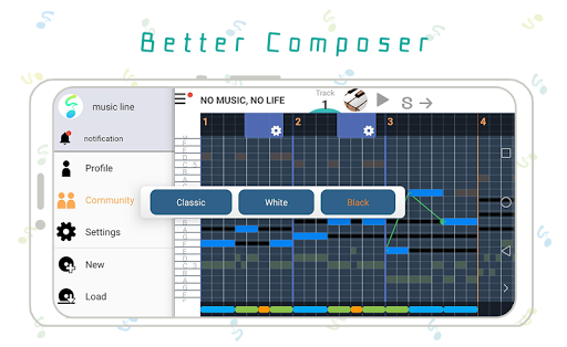3 minutes Music Composition screenshot 5