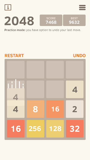 2048 Number puzzle game screenshot 6